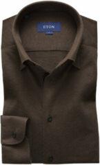 Eton 056262597 38 overhemd bruin