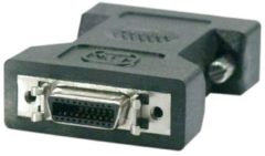 Deltaco B.V DELTACO DVI-8, DVI 18+1 pins adapter, DVI male naar HPCN20F, Zwart