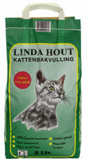 Linda Hout Kattenbakvulling - 8 L