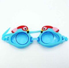 Turquoise Doodadeals Duikbril Papegaai voor kinderen   Parrot Goggles for kids