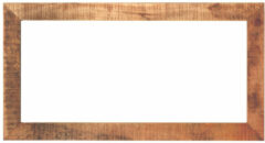 MD Interior Woodz spiegel met houten omlijsting 135x70cm