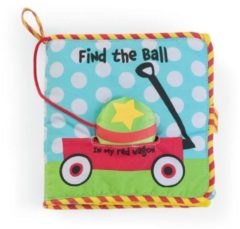 Manhattan Toy activiteitenboek Find the Ball junior textiel