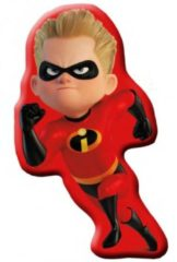 Disney kussen The Incredibles junior 35 cm polyester rood
