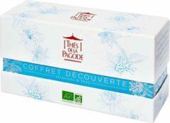 """Thés de la Pagode Cadeau Theepakket - Giftset - Kennismakingsbox voor de Fijnproever - Kruidenthee - Groene Thee - Zwarte Thee - Rooibosthee - Jardin d'Asie"""" (6 x 5 theezakjes)"""