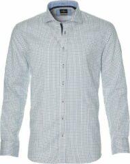 Jac Hensen Overhemd - Regular Fit - Blauw - 5XL Grote Maten