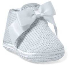 Rosa Addison Knit Slipper With Bow
