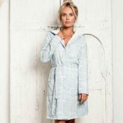 Lichtblauwe TRUE BANDITS - Hygge Robe Janna - Badjas - Blauw - XS/S