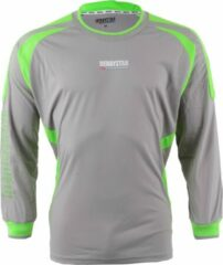 Derbystar Aponi - Keepersshirt - Kinderen - Maat 128 - Grijs/Groen