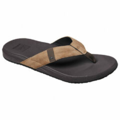 Bruine Reef Cushion Bounce Phantom Heren Slippers - Brown/Tan - Maat 40