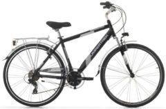 28 Zoll Cinzia Discovery Herren Trekking Fahrrad Aluminium 21 Gang Cinzia matt-schwarz