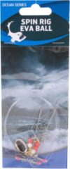 Eurocatch Fishing Raven Spin Rig Eva Ball 2 Haaks | Onderlijn | Maat 4