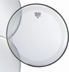Remo Powerstroke 4 Clear Bass 18 With Falam Patch bassdrumvel