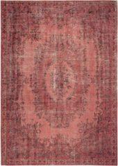 Louis de Poortere - 9141 Palazzo Borgia Red Vloerkleed - 280x360 cm - Rechthoekig - Laagpolig, Vintage Tapijt - Bohemian, Oosters, Retro - Rood