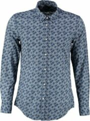 Antony morato soepel blauw slim fit overhemd - Maat L