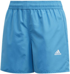 Turquoise Adidas Yb bos shorts