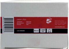 5star 10x 5 Star papierklemmen 26mm gepunt, doos a 2000 stuks