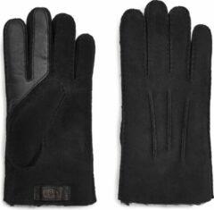 Zwarte UGG Australia UGG Contrast Sheepskin Tech Heren Handschoenen - Black - Maat M