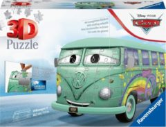 Ravensburger Spieleverlag Ravensburger Volkswagen bus T1 Pixar Cars - 3D puzzel - 162 stukjes