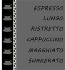 Antraciet-grijze DDDDD Ristretto - Keukendoek - 50x55 cm - Set van 6 - Anthracite