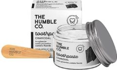 Humble Brush Tandpasta Zero Waste - Houtskool met fluor Houtskool - Vegan - 50ml - Duurzaam