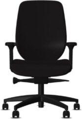 Bureaustoel Giroflex 353-4529 - Stof Zwart Gaja Classic GA60999 - Voetkruis Kunststof Zwart 810 - 4D Armleggers - Standaard Bekleding - Extra Lendensteun