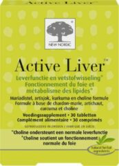 NEW NORDIC Active Liver 30 tab BE
