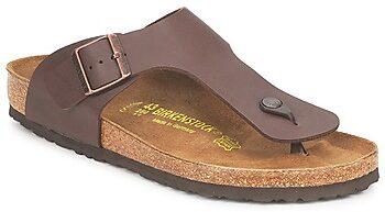 Afbeelding van Bruine Birkenstock Men's Ramses Toe Post Sandals - Dark Brown - EU 44/UK 9.5 - Brown