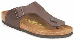 Bruine Birkenstock Men's Ramses Toe Post Sandals - Dark Brown - EU 44/UK 9.5 - Brown