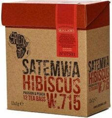 Satemwa Hibiscus Thee - 12 Tea Bags