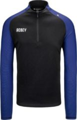 Blauwe ROBEY PERFORMANCE HALF-ZIP TOP maat S