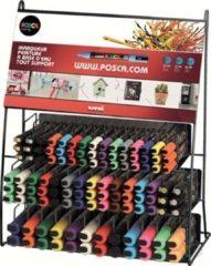 Posca paintmarker Franse display met 132 stuks