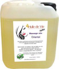 Huile de Vie Massage olie afspoelbaar Oriëntal can 5 liter