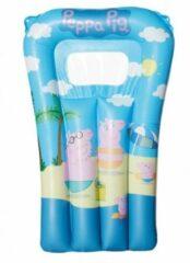 Peppa Pig/Big opblaasbaar luchtbed 67 x 43 cm speelgoed voor kinderen - Buitenspeelgoed luchtbedden - Opblaasbedden - Waterspeelgoed