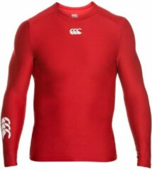Canterbury Thermoreg LS Top - Thermoshirt - Rood - S