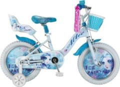 16 Zoll Mädchen Fahrrad Hoopfietsen Ice... weiß