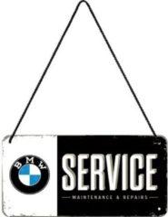 Nostalgic Art Merchandising BMW Service Metalen wandbord 10x20 cm
