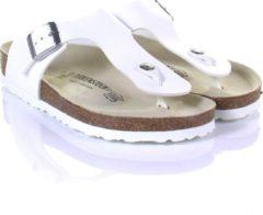 Witte Birkenstock Ramses Normaal Heren Slippers - White - Maat 43