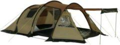 10-T Outdoor Equipment 10T Felton 4 - Funktionelles 4-Personen Apsiden Tunnel-Zelt Vorraum mit Sonnendach WS=5000mm