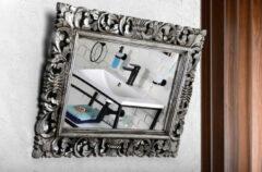 Sapho Scule barok spiegel met zilver omlijsting 60x80cm