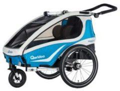Qeridoo Kidgoo2 Fahrradanhänger Modell 2018 blau