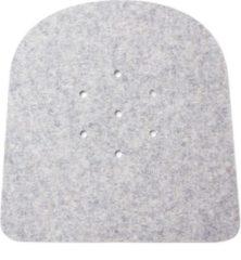 Licht-grijze Hey-Sign seatpad voor Tolix stoel - 5 mm - gaatjes - Lichtgrijs 07