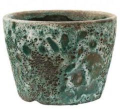 Baq Design Lava Relic Jade bloempot binnen 19x19x13 cm