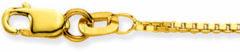 Glow Gouden Lengtecollier - Venetiaans 1.1 Mm 201.1238.36