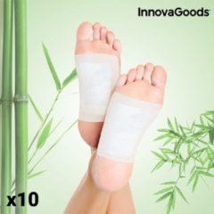 InnovaGoods Detox-Patches voor Voeten (Pakket van 10)