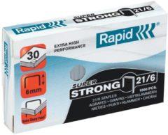 Bruna Nieten Rapid 21/6 gegalvaniseerd super strong 1000 stuks
