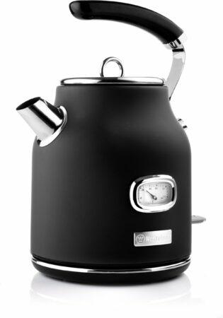 Afbeelding van Westinghouse Retro Waterkoker - 1.7 liter - Zwart
