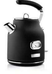 Westinghouse Retro Waterkoker - 1.7 liter - Zwart