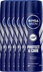 Nivea MEN protect en care deodorant spray- voordeelverpakking 5+1 gratis