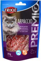 Trixie Premio Carpaccio - Kattensnack - Eend Vis 20 g