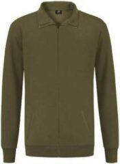 REWAGE Vest Premium Heavy Kwaliteit - Heren - Olijfgroen - L